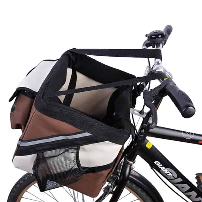 Easy to mount Dog Carrier for Bike Pet Accessory